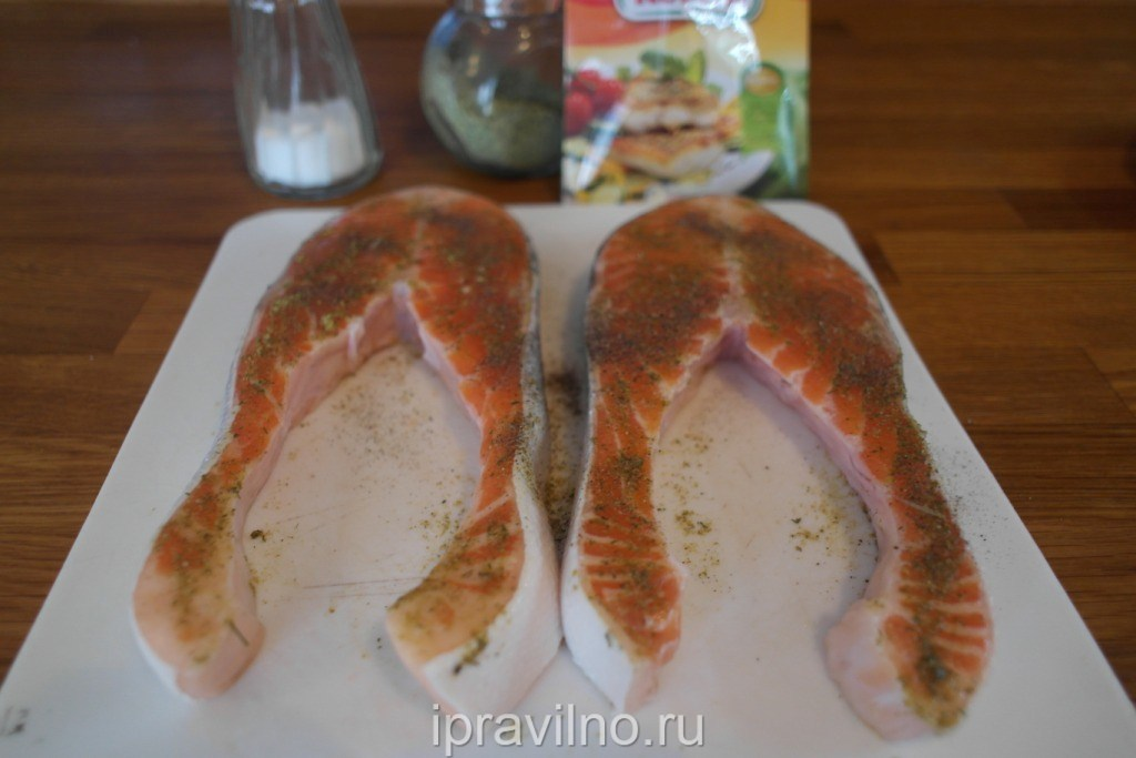 Рецепт форели в пароварке