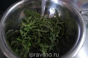 салат овощной с консервированными шампиньонами