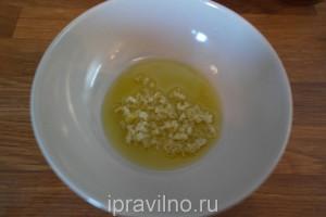 закуска из помидоров с медом, чесноком и мятой