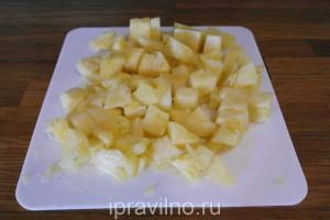 куриное филе с ананасами в духовке