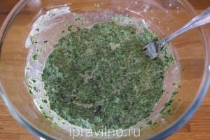 куриное филе со шпинатом в духовке