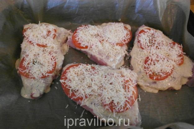 стейк из индейки как вкусно приготовить в духовке