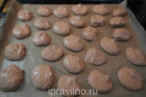 шоколадное печенье с протеином