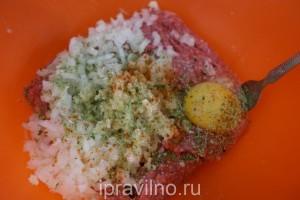 суп из цветной капусты с фрикадельками