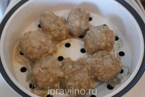 котлеты из говядины с перепелиными яйцами