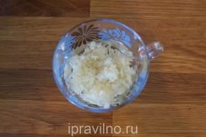 шашлык из индейки с чесноком и лимоном