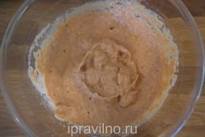 дип из баклажанов, сладкого перца и сыра фета