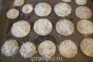 кабачковые чипсы