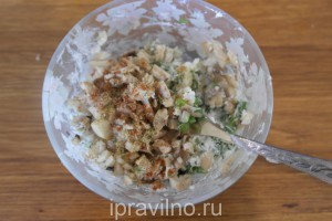 шампиньоны запеченные в духовке с луком и сыром