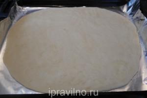 пицца с сыром бри