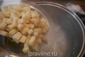 куриный суп с болгарским перцем и вермишелью