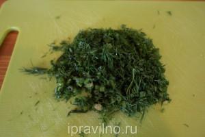 салат грибная поляна низкокалорийный