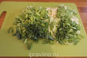суп с китайской капустой и плавленым сыром