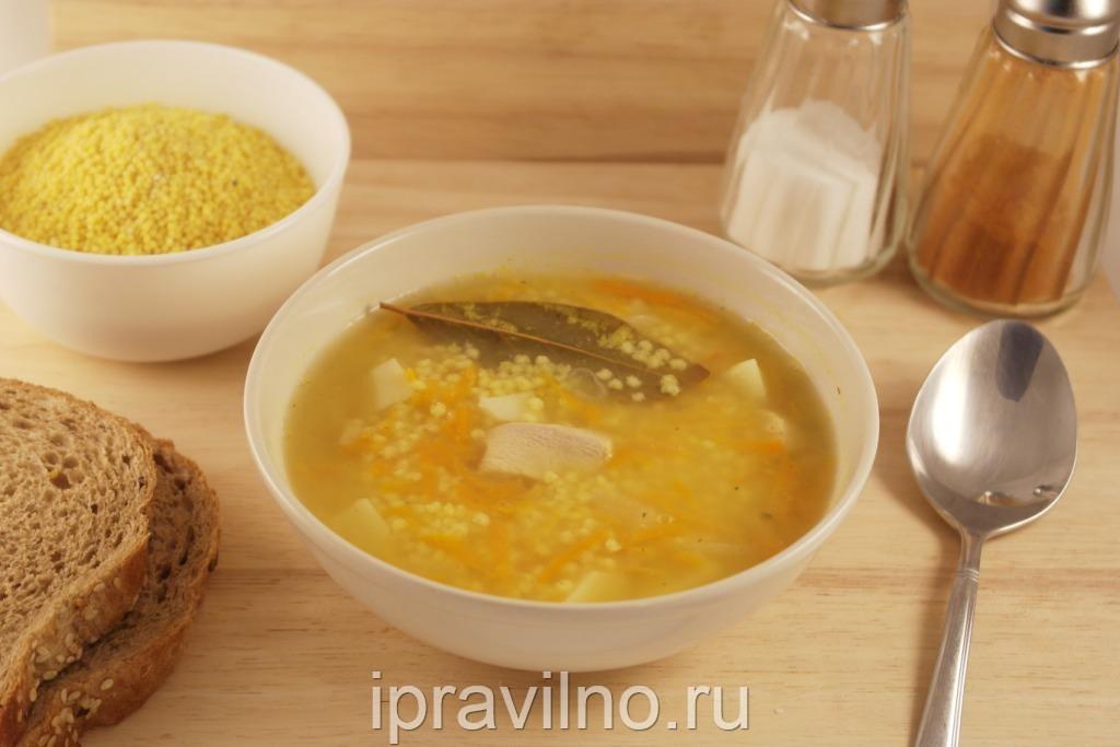 Полевой суп с пшеном рецепт