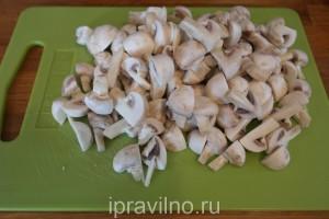грибной борщ