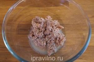 паштет из тунца, фасоли и оливок