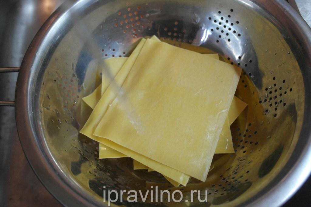 Лазанья рецепт с фото пошаговый без молока