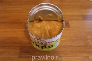суп с чечевицей и кабачковой икрой