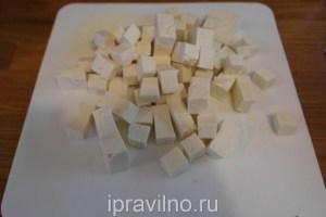 запеченная тыква с тофу