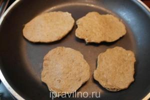 низкокалорийные оладьи из говяжьей печени
