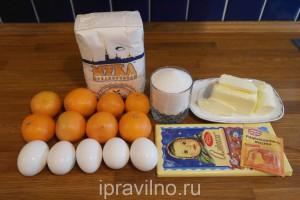 мандариновые маффины с шоколадом