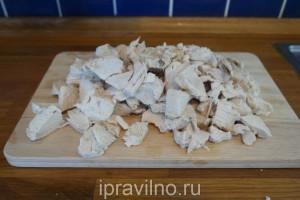 бешбармак с куриной грудкой