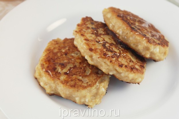 сырники с бананом в духовке рецепт с фото