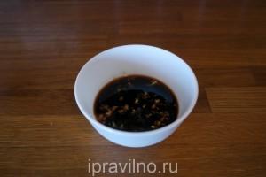 утиная грудка с медом и соевым соусом