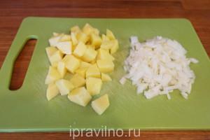 суп с индейкой и тыквой
