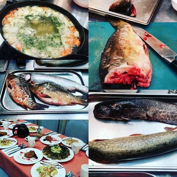 мастер класс речная рыба