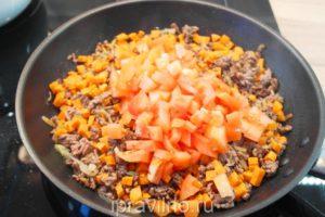 суп с фаршем и бурым рисом