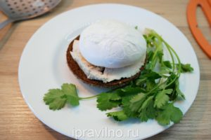 diet eggs benedict recipe